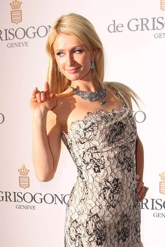 Paris Hilton at Cannes Film Festival