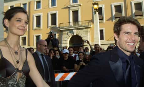 Tom Cruise Katie Holmes Rome 2005