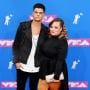 Tyler Baltierra and Catelynn Lowell at the VMAs