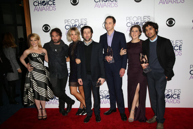 'The Big Bang Theory' Cast: 2016 People's Choice Awards