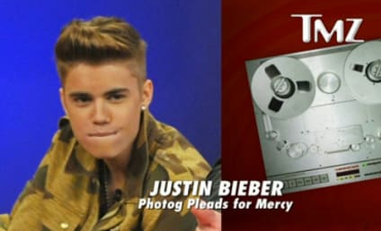 Justin Bieber Curses Off Cameraman, Steals His Stuff: Caught on Tape!