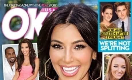 Kim Kardashian Pregnant Cover