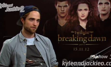 Robert Pattinson on The Kyle & Jackie O Show