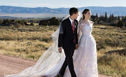 Allison Williams Marries Ricky Van Veen!