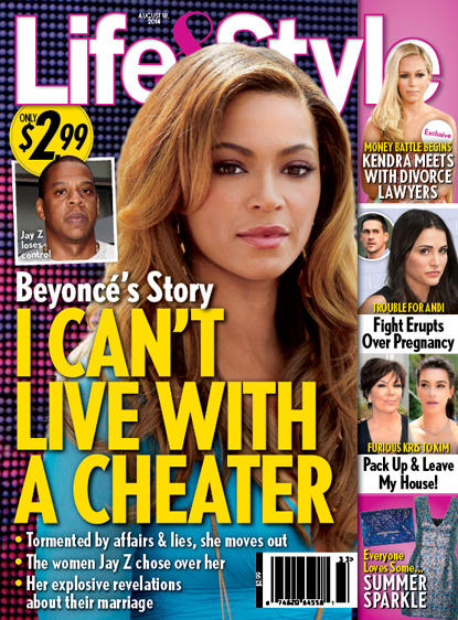 Beyonce Hates Cheaters!