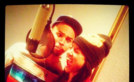 Karrueche Tran and Chris Brown Photo