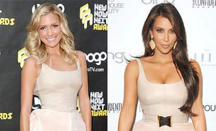 Fashion Face-Off: Kristin Cavallari vs. Kim Kardashian