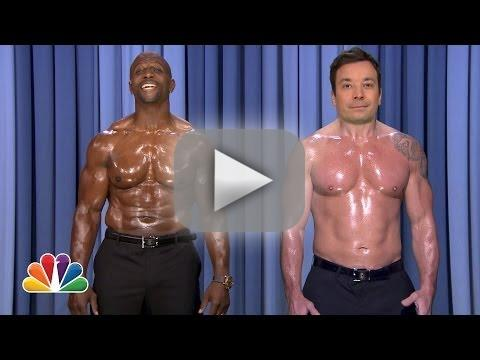 Jimmy Fallon and Terry Crews Perform Nip-Sync Duet