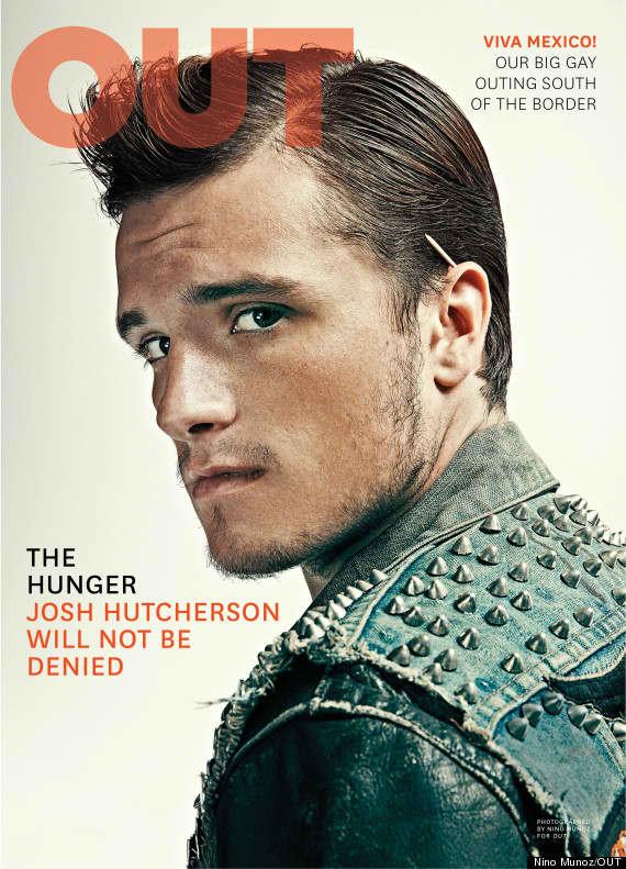 Josh Hutcherson Out Cover