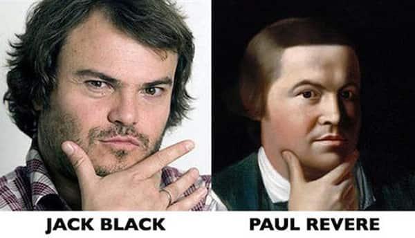 Jack Black and Paul Revere