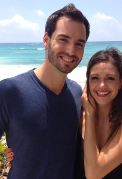 Desiree Hartsock and Chris Siegfried Smile