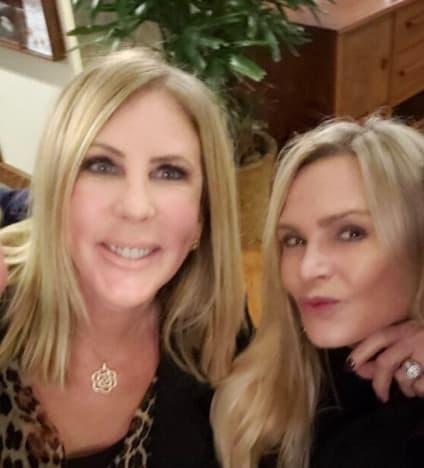 Vicki Gunvalson and Tamra Judge Dine Without Drama