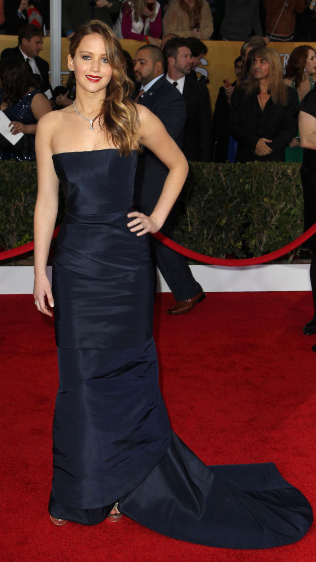 Jennifer Lawrence SAG Fashion