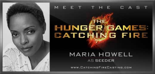 Maria Howell in Catching Fire