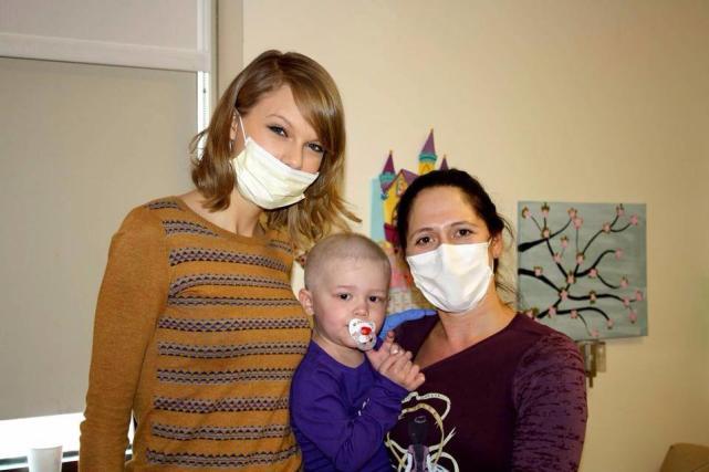 Taylor Swift Hospital Visit