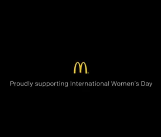McDonald's for International Women's Day 2018