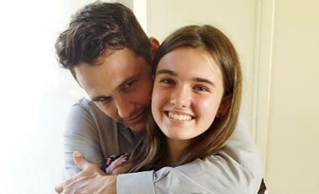 James Franco and Fan