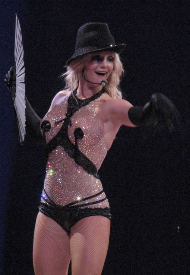 Britney Spears Circus Outfit