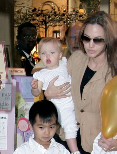 Shiloh Jolie-Pitt Baby picture