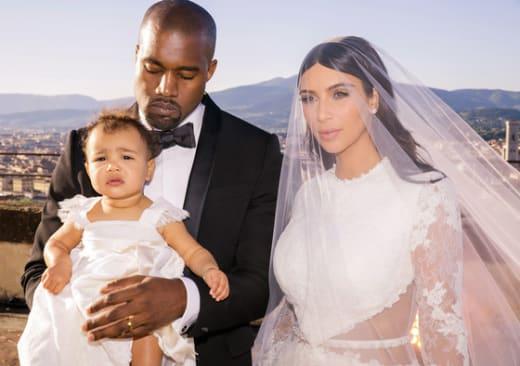 NEW Kim Kardashian Wedding Photos: First Official Family