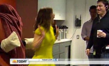 Natalie Morales Chair Prank: Caught on Camera!