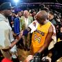 Lamar Odom and Kobe Bryant Photo