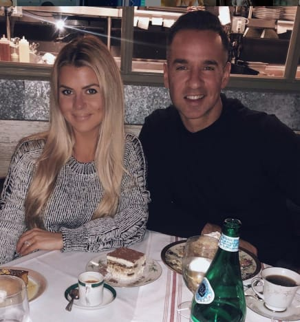 """Mike """"The Situation"""" Sorrentino and His Wife"""