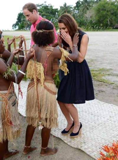 Kate Middleton in Marau