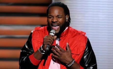 Jermaine Jones on American Idol