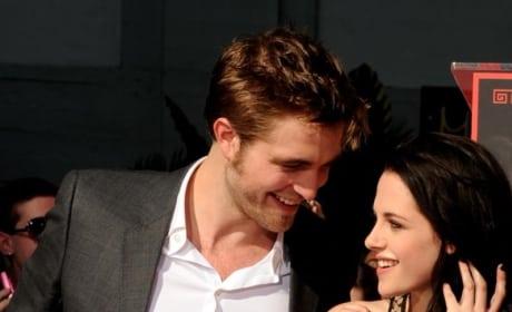Robert Pattinson and Kristen Stewart Meet Up!