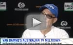 "Jean-Claude Van Damme Storms Out of Interview, Claims Questions are ""Boring"""