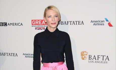 Cate Blanchett: 2016 BAFTA Los Angeles Awards Season Tea