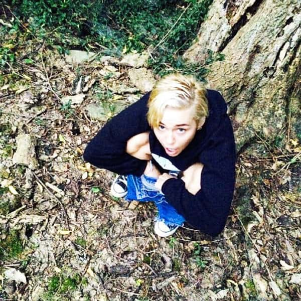 Miley Cyrus Pees, Passes Out on Instagram - The Hollywood