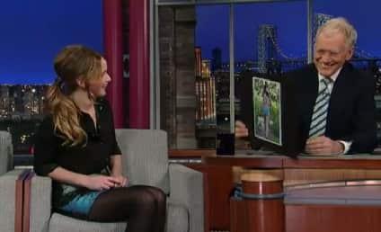 Jennifer Lawrence on Letterman: That's Not My Ass!