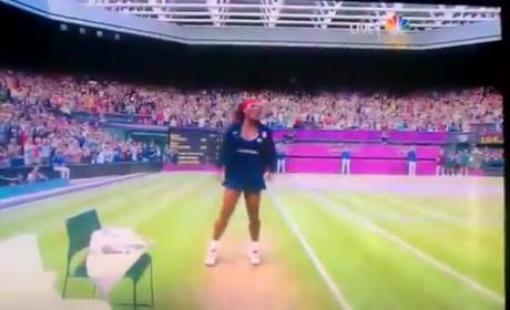 Crip Walk Dance By Serena Williams