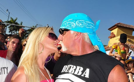 Jennifer McDaniel, Hulk Hogan Kiss