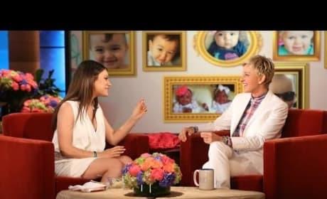 Mila Kunis Talks Pregnancy!