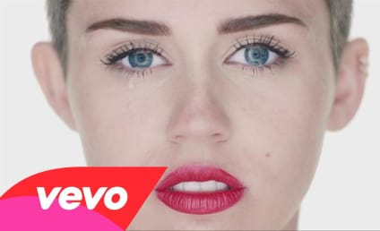 Wrecking Ball Set Report: Why is Miley Cyrus Crying?