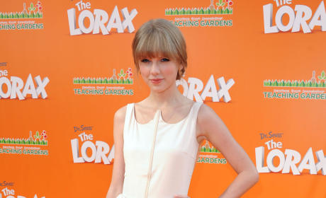 Taylor Swift at The Lorax Premiere