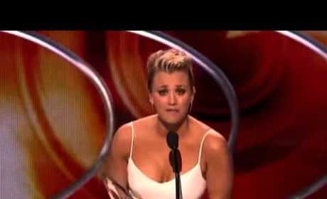 Kaley Cuoco: People's Choice Awards Acceptance Speech