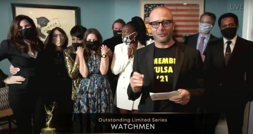 Watchmen gana una destacada serie limitada