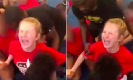 High School Cheerleader Forced to Do Splits, Cries Out For Help in Disturbing Video