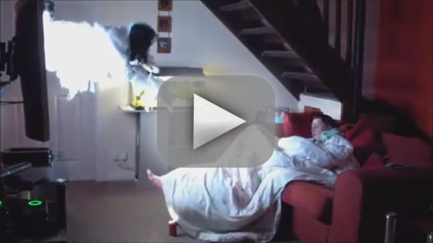 Boyfriend Pulls 'The Ring' Prank