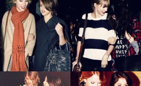 Selena and Taylor Collage