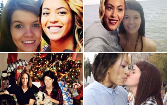 Girl photoshops beyonce over boyfriend in photos beyoncify my life
