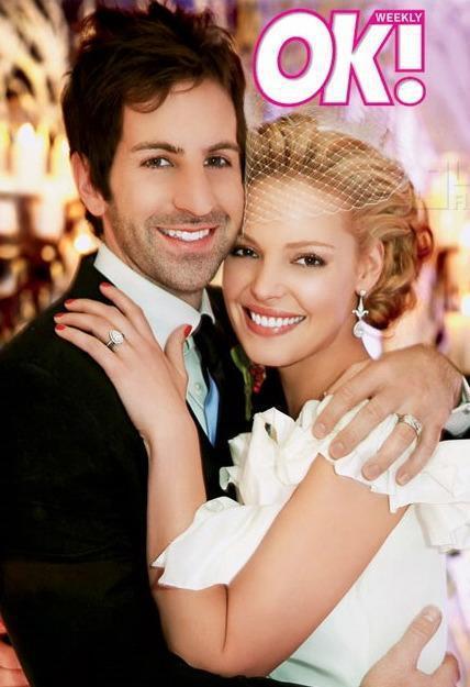 Katherine Heigl, Josh Kelley Wedding Pic