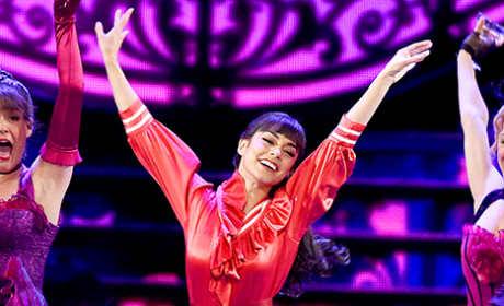 Vanessa Hudgens Performs at 2015 Tony Awards