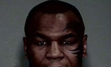 Mike Tyson Mug Shot