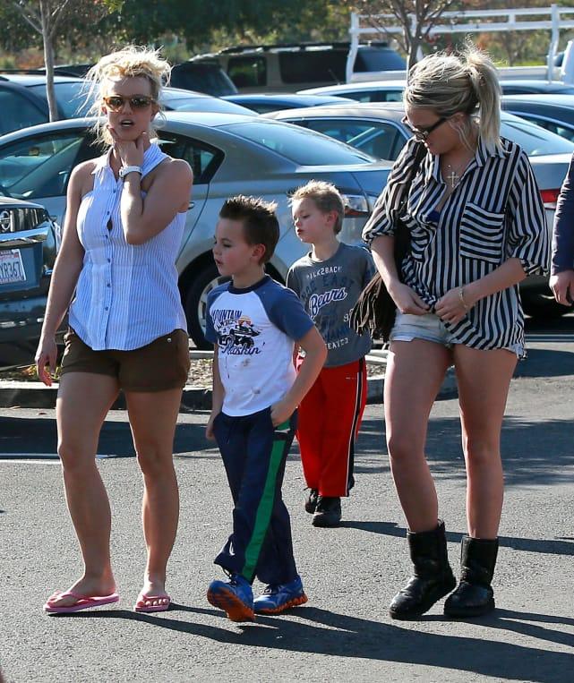 Britney, Jamie Lynn and the Boys
