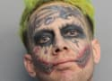 Florida Man With Joker Face Tattoos Arrested For Good of Society
